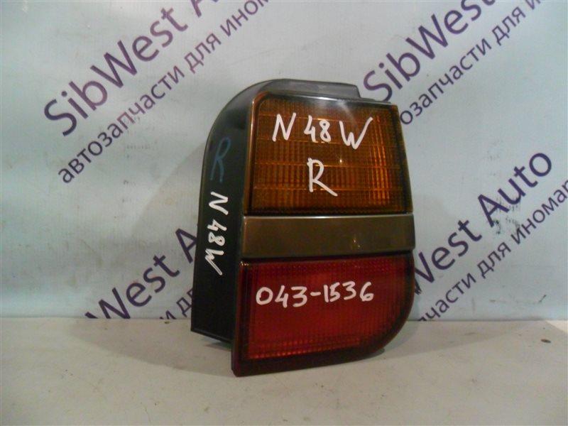 Стоп-сигнал Mitsubishi Chariot N48W 4D68 1992 задний правый