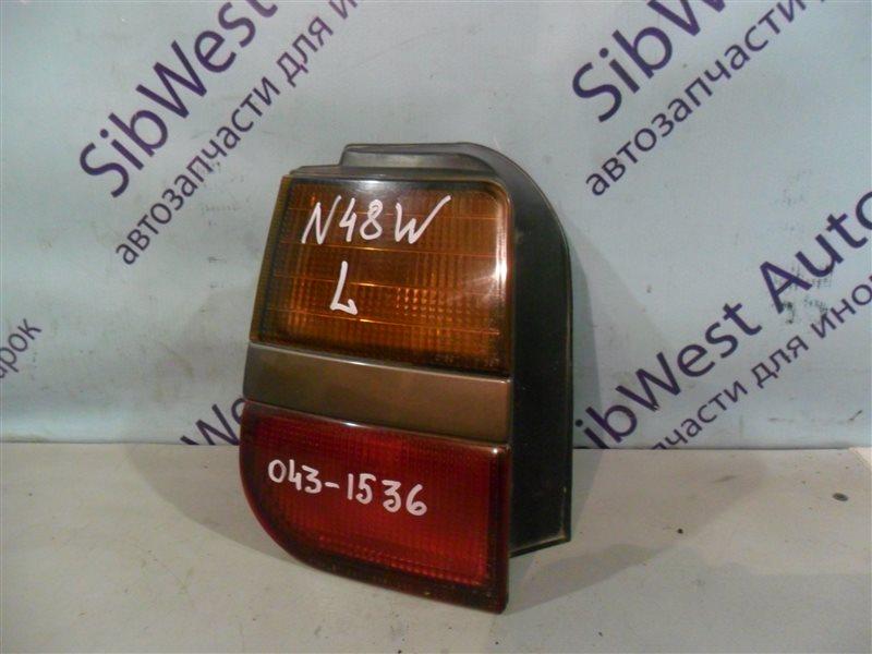 Стоп-сигнал Mitsubishi Chariot N48W 4D68 1992 задний левый