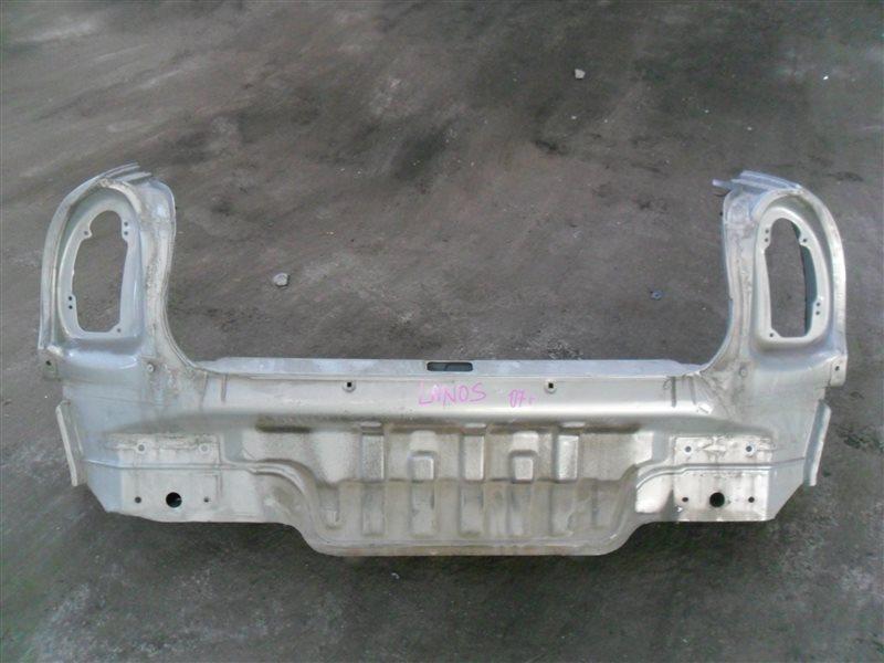 Задняя панель кузова Chevrolet Lanos T100 A15SMS 2007