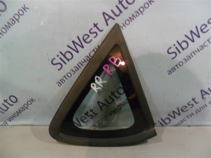 Стекло собачника Hyundai Solaris RB G4FA 2012 заднее правое