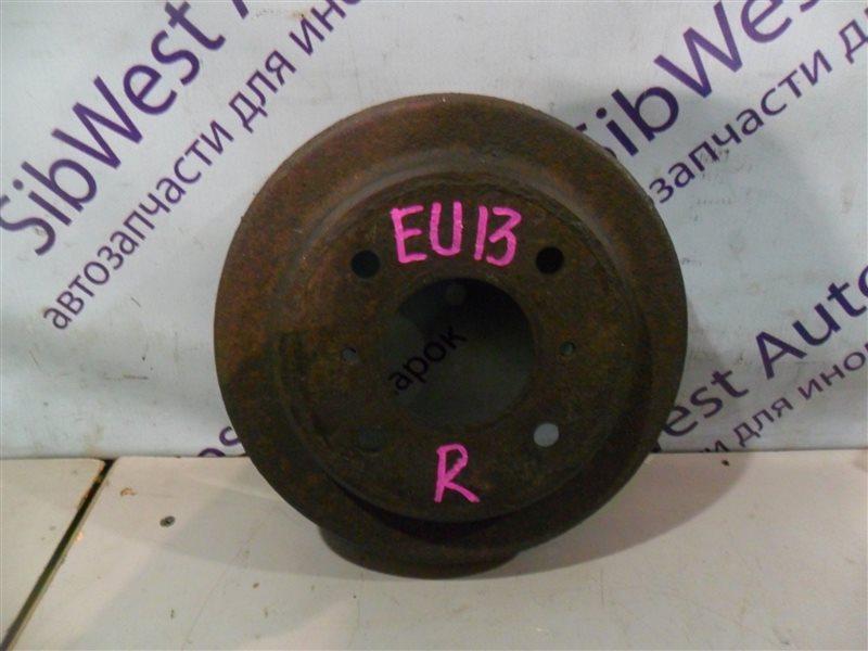 Тормозной барабан Nissan Bluebird EU13 SR18 1991 задний