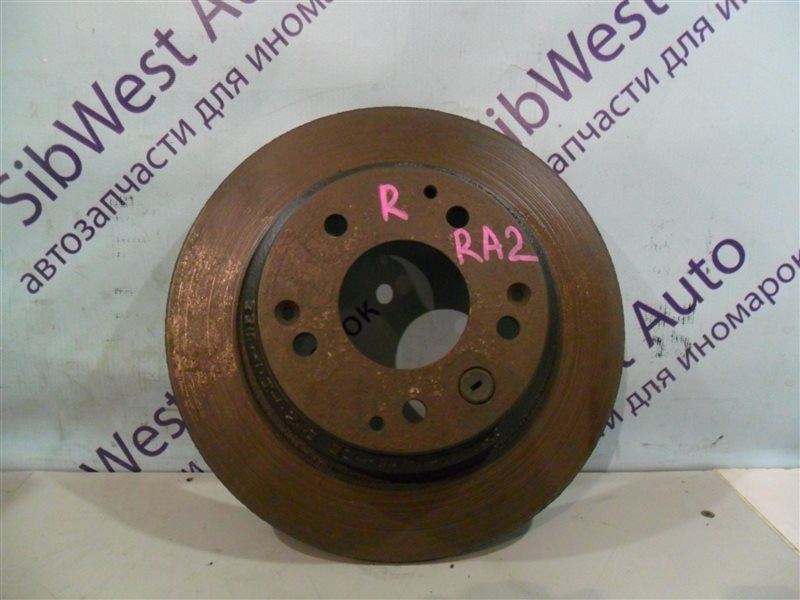 Тормозной диск Honda Odyssey RA2 F22B 1995 задний