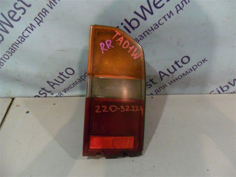 Стоп-сигнал Suzuki Escudo TA01W G16A 1991 задний правый