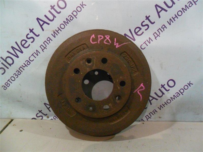 Тормозной барабан Mazda Premacy CP8W FP-DE 2000 задний