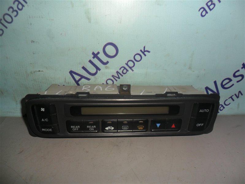 Блок управления климат-контролем Honda Odyssey RA6 F23A 2000 передний