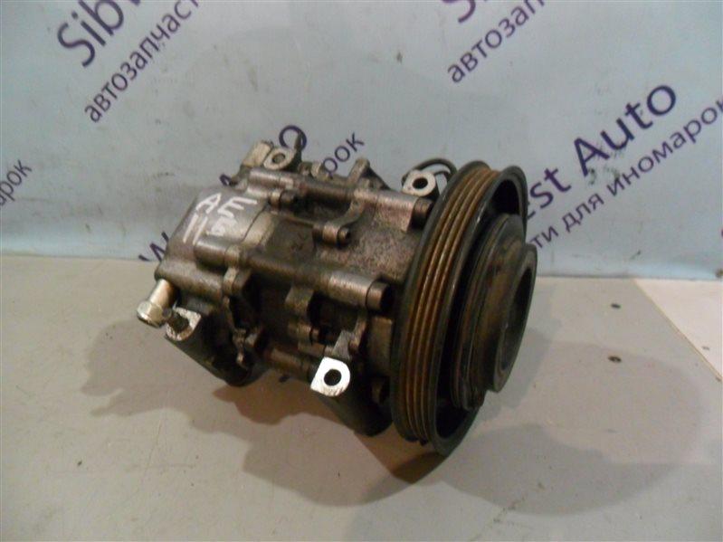 Компрессор кондиционера Toyota Carib AE115 7AFE 1996