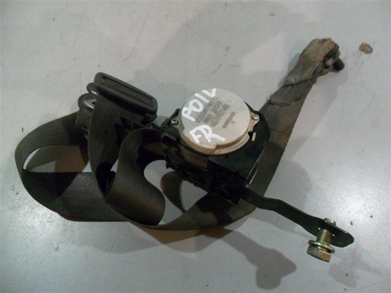Ремень безопасности Mitsubishi Delica P01V G33B 1990 передний правый