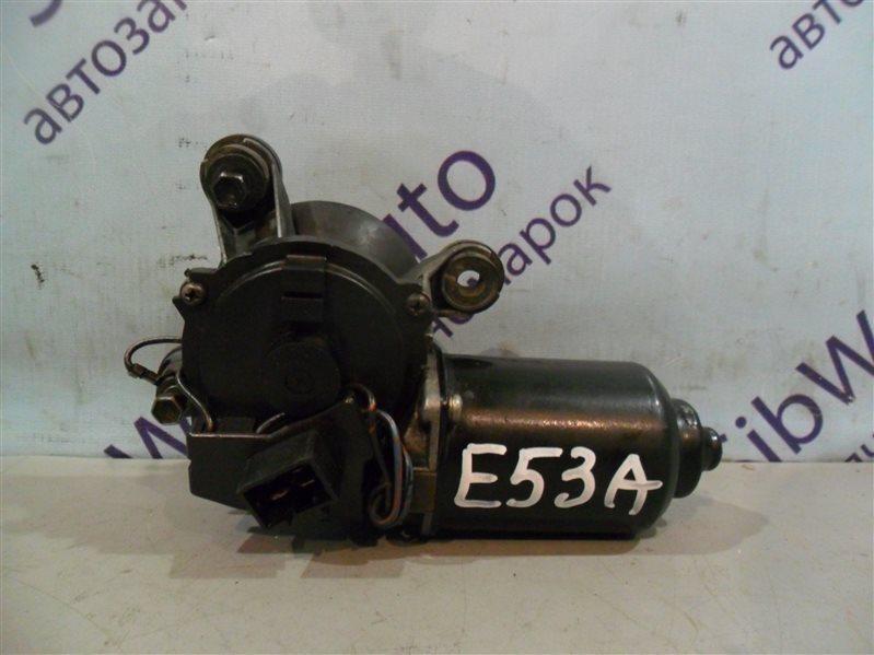 Мотор дворников Mitsubishi Galant E53A 6A11 1993 передний