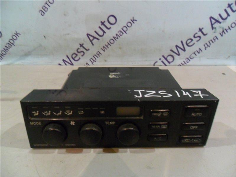 Блок управления климат-контролем Toyota Aristo JZS147 2JZGE 1996