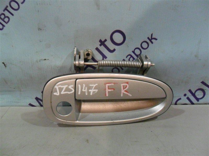 Ручка двери внешняя Toyota Aristo JZS147 2JZGE 1996 передняя правая