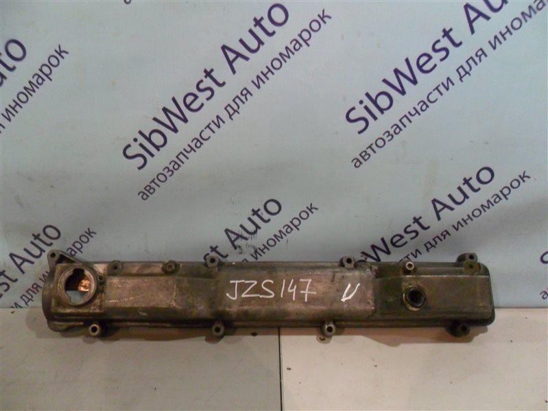 Клапанная крышка Toyota Aristo JZS147 2JZGE 1996 левая