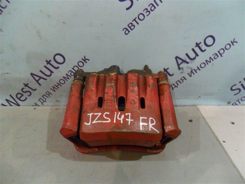 Суппорт Toyota Aristo JZS147 2JZGE 1996 передний правый