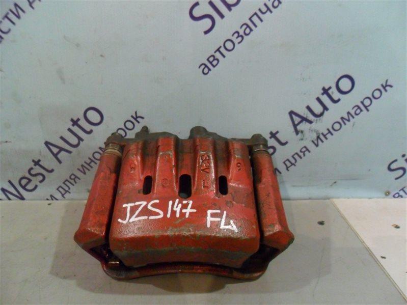 Суппорт Toyota Aristo JZS147 2JZGE 1996 передний левый