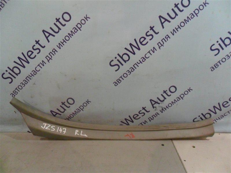 Порожек пластиковый Toyota Aristo JZS147 2JZGE 1996 задний левый