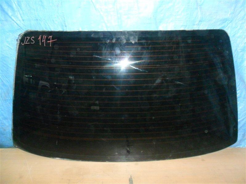 Заднее стекло Toyota Aristo JZS147 2JZGE 1996