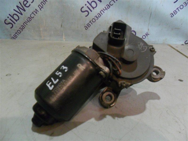 Мотор дворников Toyota Corsa EL53 5E-FE 1997 передний