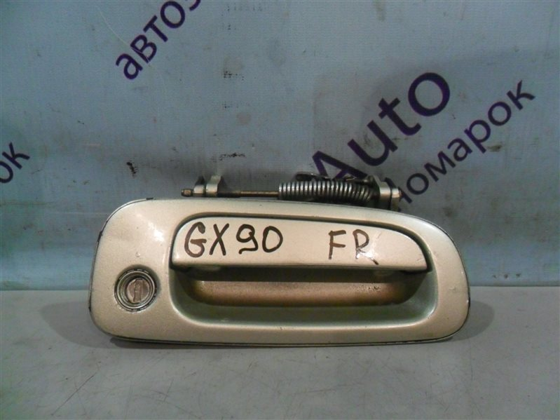 Ручка двери внешняя Toyota Cresta GX90 1GFE 1993 передняя правая