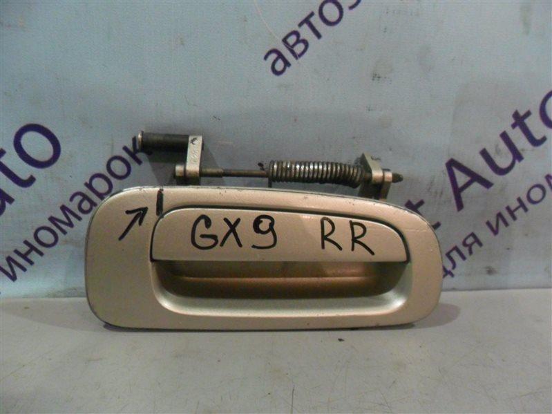 Ручка двери внешняя Toyota Cresta GX90 1GFE 1993 задняя правая