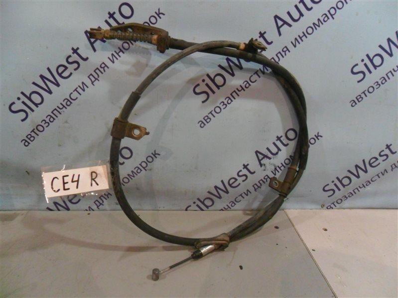 Тросик ручника Honda Ascot CE4 G20A 1994 задний правый