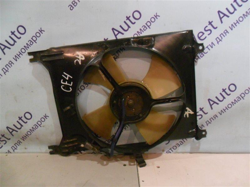 Вентилятор радиатора кондиционера Honda Ascot CE4 G20A 1994