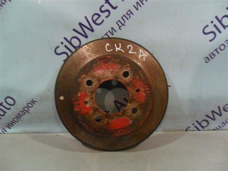 Тормозной диск Mitsubishi Lancer CK2A 4G15 1999 задний