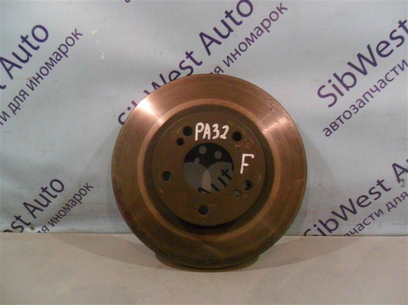 Тормозной диск Nissan Cefiro PA32 VQ25DE 1995 передний