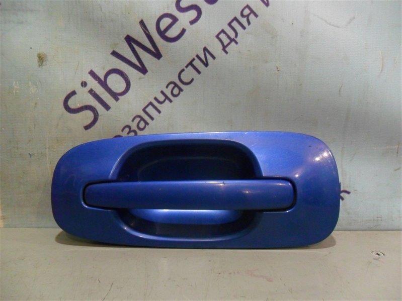 Ручка двери внешняя Subaru Impreza GD9 EJ20 2001 задняя левая