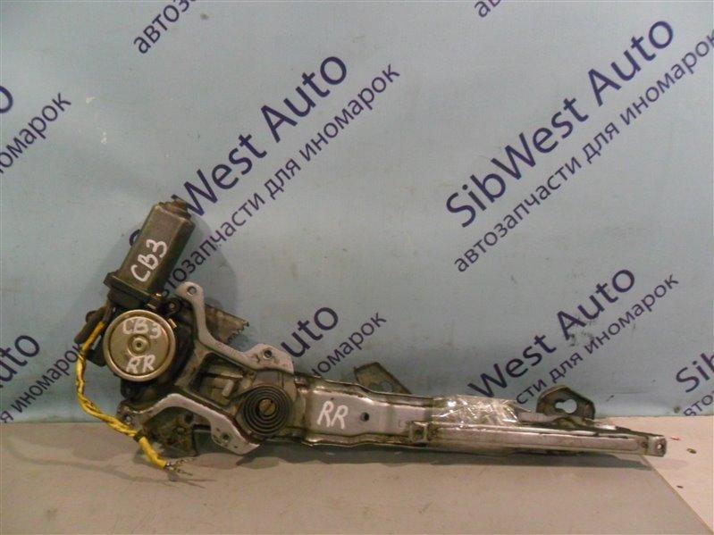 Стеклоподъемник Honda Ascot Innova CB3 F20A 1994 задний правый