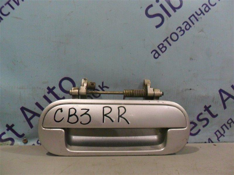 Ручка двери внешняя Honda Ascot Innova CB3 F20A 1994 задняя правая