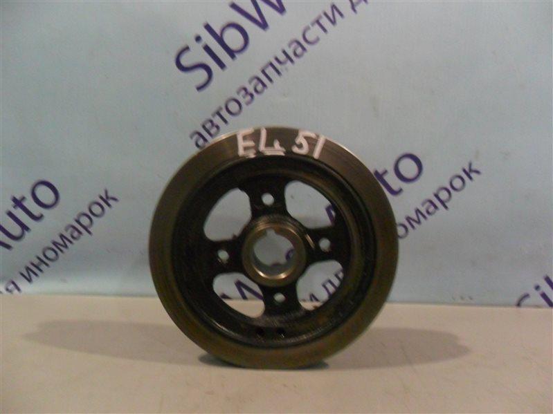 Шкив коленвала Toyota Corsa EL51 4E-FE 1996