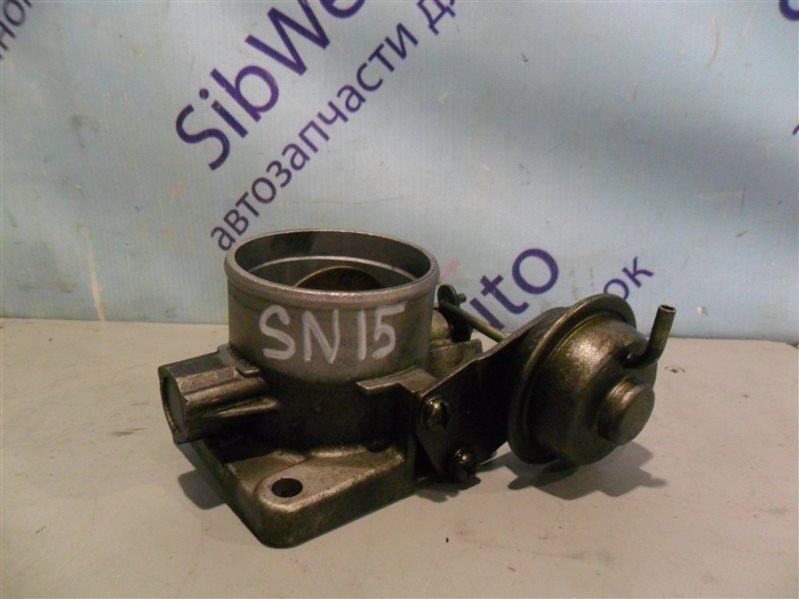 Блок дроссельной заслонки Nissan Pulsar SN15 CD20 1996