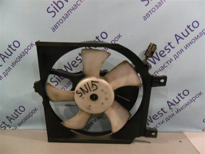 Вентилятор радиатора кондиционера Nissan Pulsar SN15 CD20 1996
