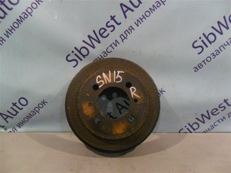 Тормозной барабан Nissan Pulsar SN15 CD20 1996 задний