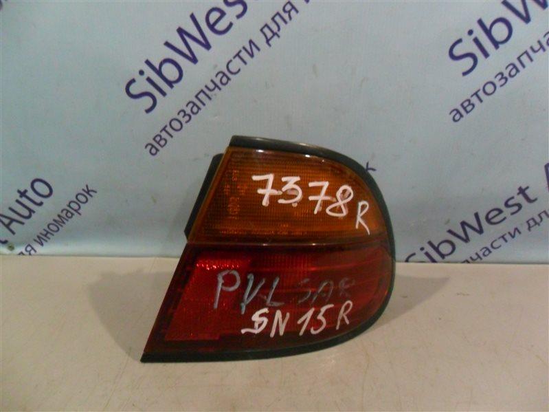 Стоп-сигнал Nissan Pulsar SN15 CD20 1996 задний правый
