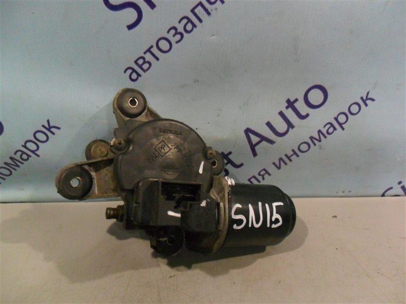 Мотор дворников Nissan Pulsar SN15 CD20 1996 передний