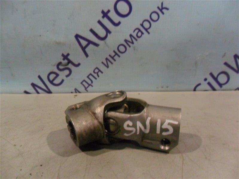 Рулевой карданчик Nissan Pulsar SN15 CD20 1996