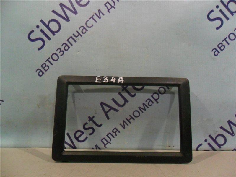 Консоль магнитофона Mitsubishi Eterna E34A 4D65 1990
