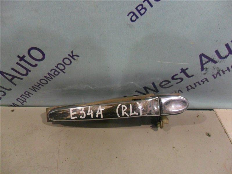 Ручка двери внешняя Mitsubishi Eterna E34A 4D65 1990 задняя левая