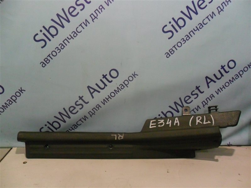 Порожек пластиковый Mitsubishi Eterna E34A 4D65 1990 задний левый