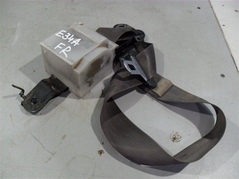 Ремень безопасности Mitsubishi Eterna E34A 4D65 1990 передний правый