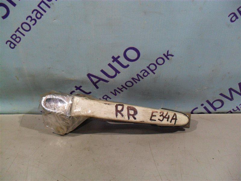 Ручка двери внешняя Mitsubishi Eterna E34A 4D65 1990 задняя правая