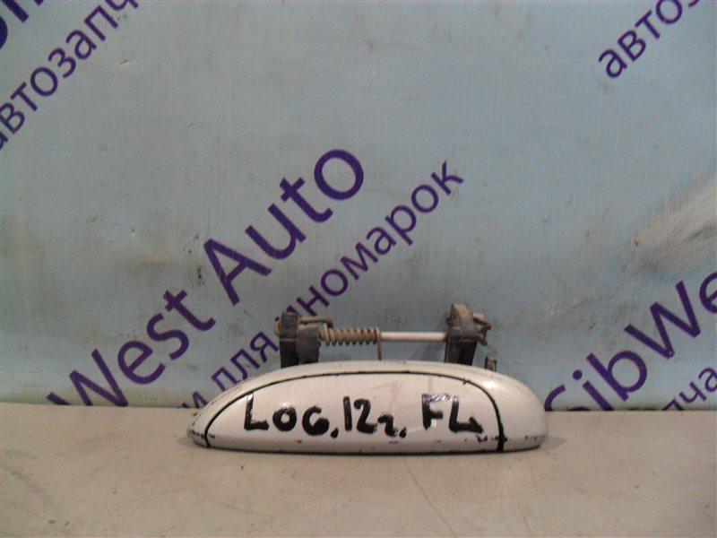 Ручка двери внешняя Renault Logan LS0G K7J 2012 передняя левая