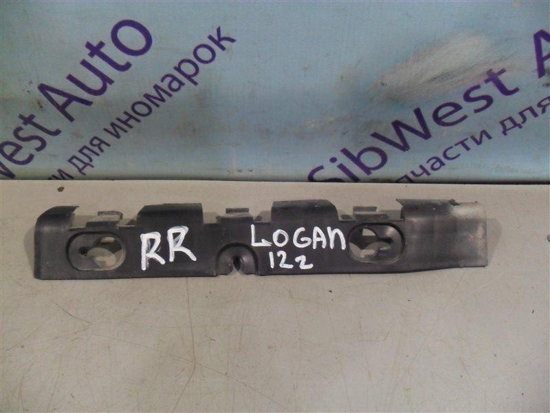 Крепление бампера Renault Logan LS0G K7J 2012 заднее правое