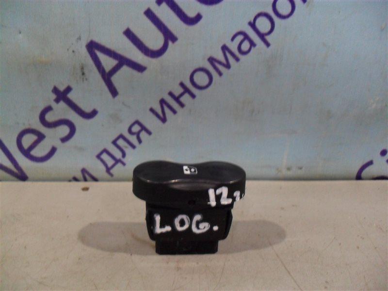 Кнопка стеклоподъемника Renault Logan LS0G K7J 2012 передняя