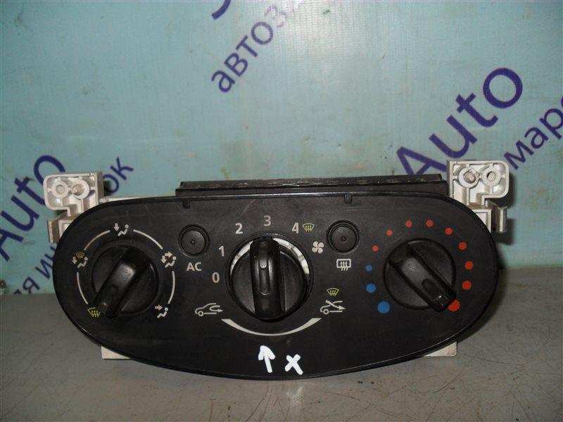 Блок управления климат-контролем Renault Logan LS0G K7J 2012