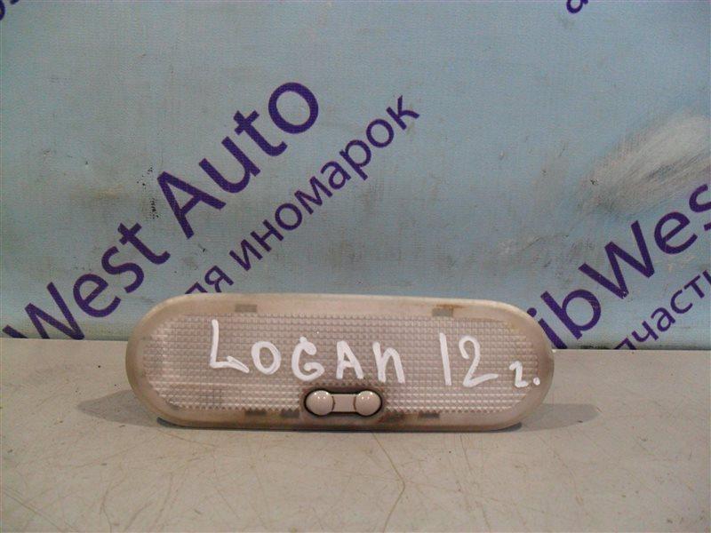 Плафон Renault Logan LS0G K7J 2012 передний