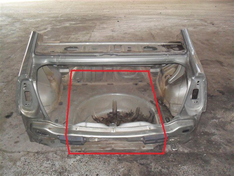 Задняя панель кузова Renault Logan LS0G K7J 2012