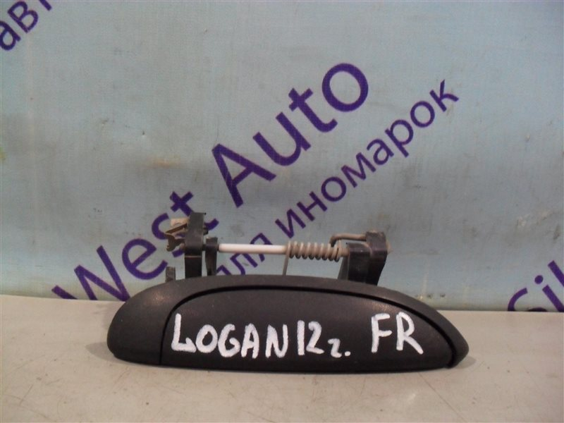 Ручка двери внешняя Renault Logan LS0G K7J 2012 передняя правая