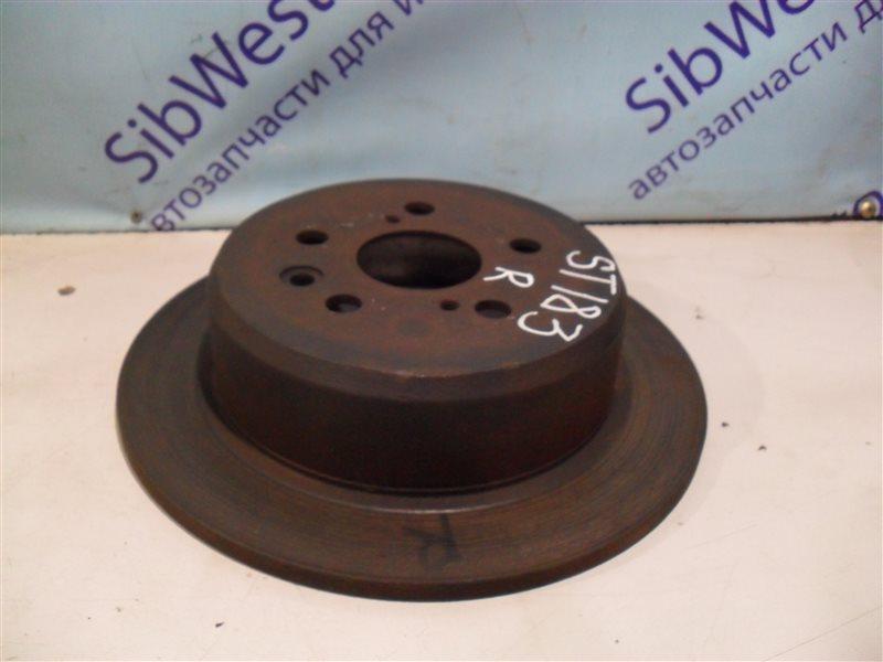 Тормозной диск Toyota Corona Exiv ST183 3S-FE 1990 задний
