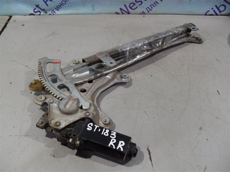 Стеклоподъемник Toyota Corona Exiv ST183 3S-FE 1990 задний правый